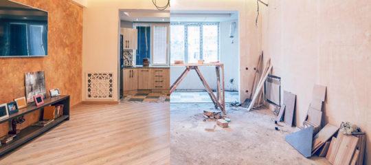 Travaux de rénovation immeuble