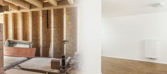 Faire une rénovation d'un bâtiment